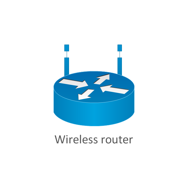 wireless router network diagram wireless network mode cisco rh conceptdraw com wireless router connection diagram wireless router network diagram
