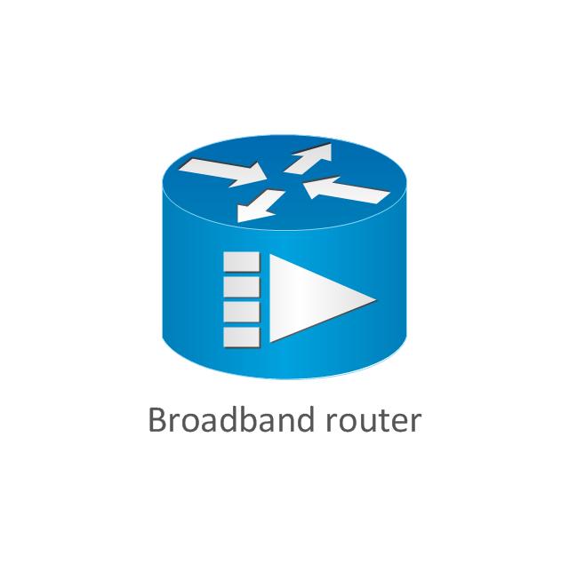 Broadband router, broadband router,