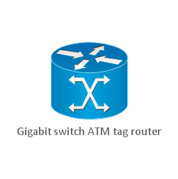 Gigabit switch ATM tag router, gigabit switch ATM tag router,