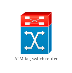 Atm tag switch router for Mobilia network