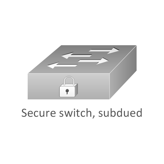 Secure switch, subdued, secure switch,