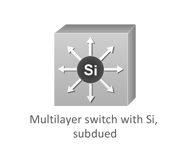 Multilayer switch with Si, subdued, multilayer switch with Si,