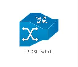 IP DSL switch, IP DSL switch,