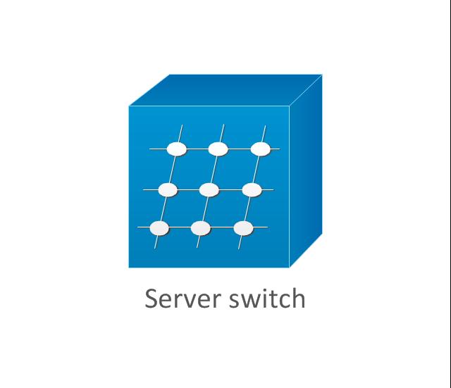 Server switch, server switch,