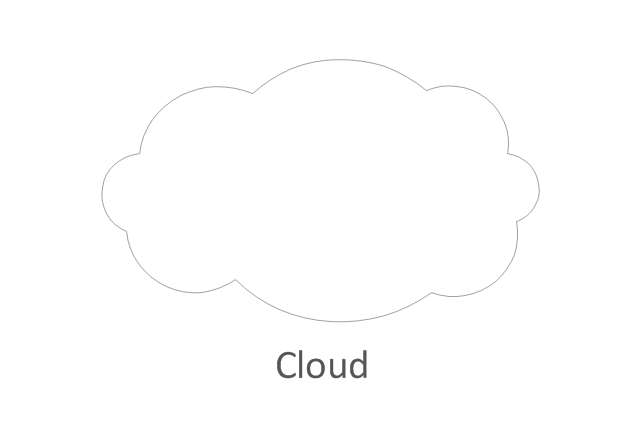 Network cloud, white, cloud,