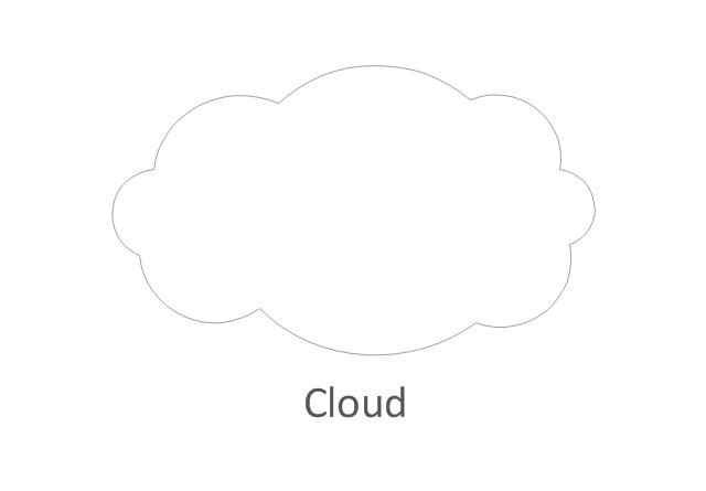 Network cloud, white, cloud,