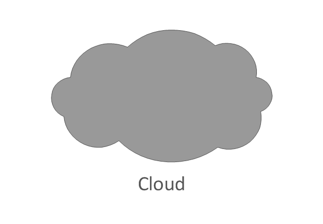 Network cloud, dark, network cloud,