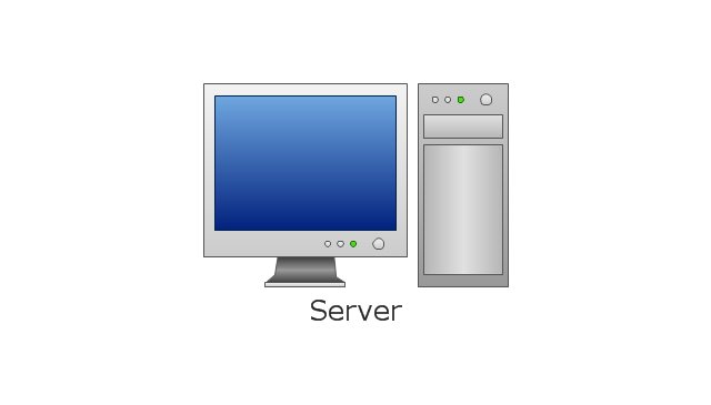 , server