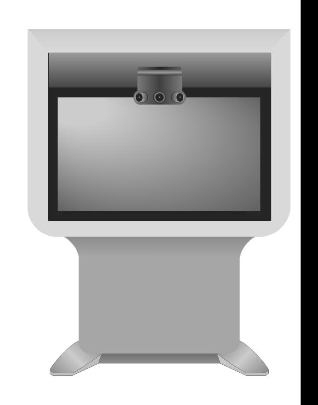 Cisco TelePresence System 1300-47 (front), Cisco, telepresence,