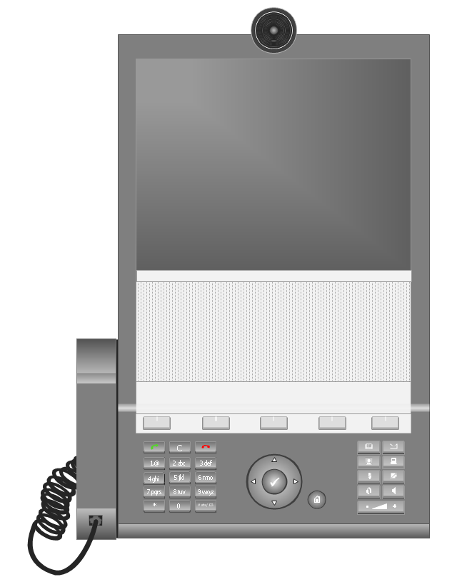 Cisco IP Video Phone E20 (front), envelope, mail, Cisco, IP video phone,
