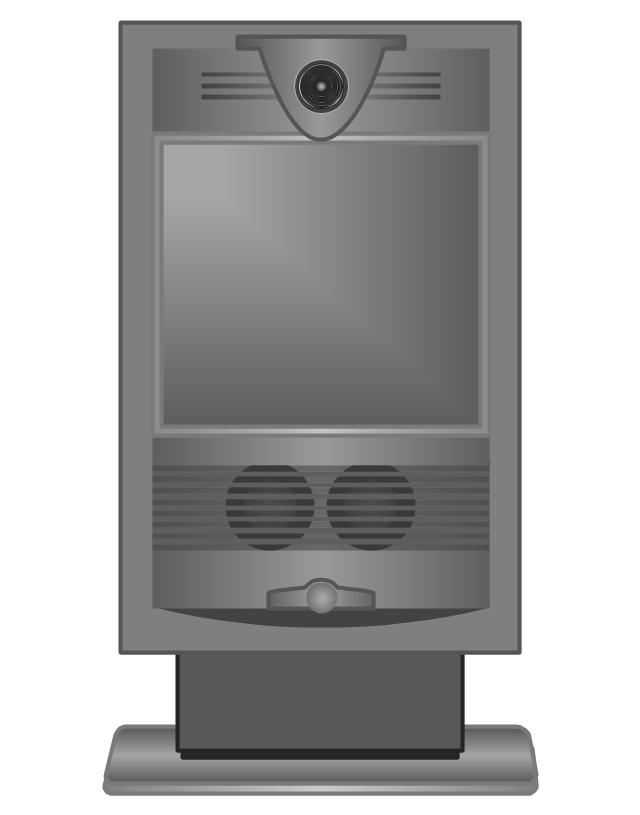 Cisco TelePresence System 1000 MXP (Front), Cisco, telepresence,