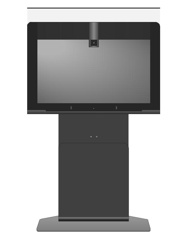 Cisco TelePresence System 500-37 pedestal, Cisco, telepresence,