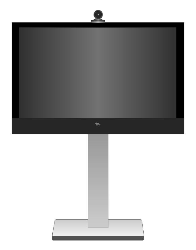 Cisco TelePresence System MX300 55-inch (front), Cisco, telepresence,