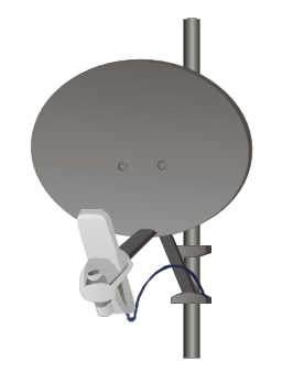 5700BHRF - 5.7 GHz  Backhaul Module - 10 Mbps - with Reflector, 5700BHRF,  Backhaul Module, Reflector,