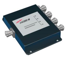 800-2500 MHz 50 WATT 4-WAY POWER SPLITTER,N-FEM ALL PORTS, power splitter,