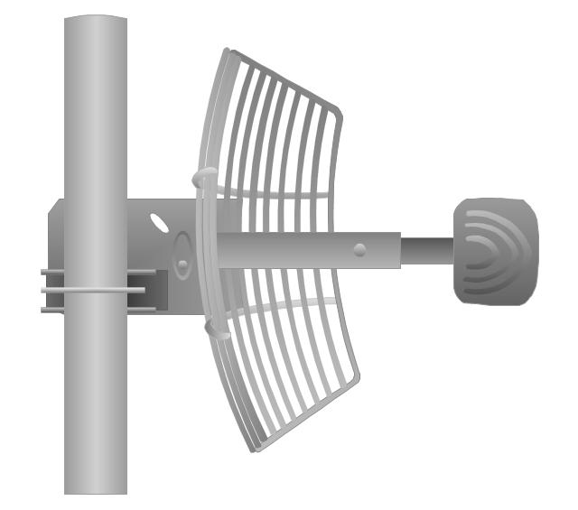 Grid antenna, grid antenna,