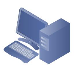 Desktop computer, PC,