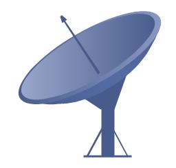 Satellite dish, satellite dish,