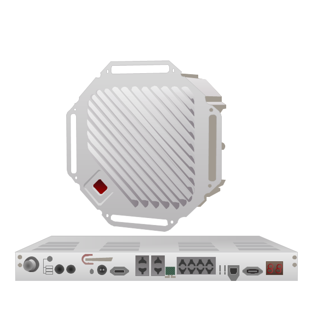 TrangoLINK Giga digital microwave radio backhaul, Split-Architecture Microwave Radio Link,