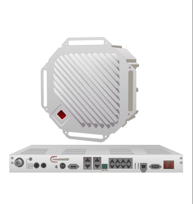 TrangoLINK Giga digital microwave radio backhaul, Split-Architecture Microwave Radio Link,