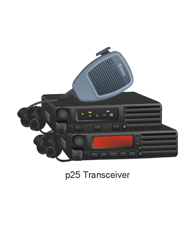 radio networks computer and network examples vertex vector p25 transceiver p25 transceiver vx 7100 vx 7200 vhf
