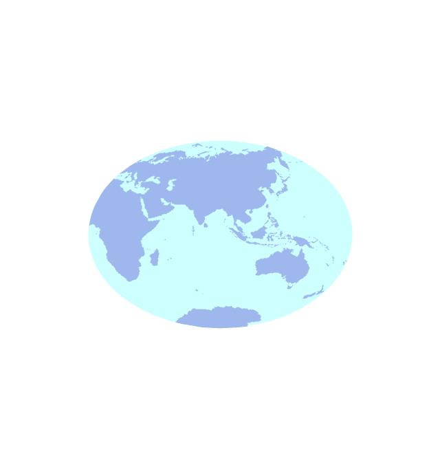Eastern Hemisphere (oval), Eastern, hemisphere,