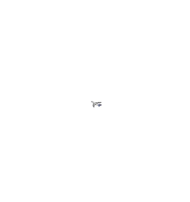 Airplane (back view), airplane,
