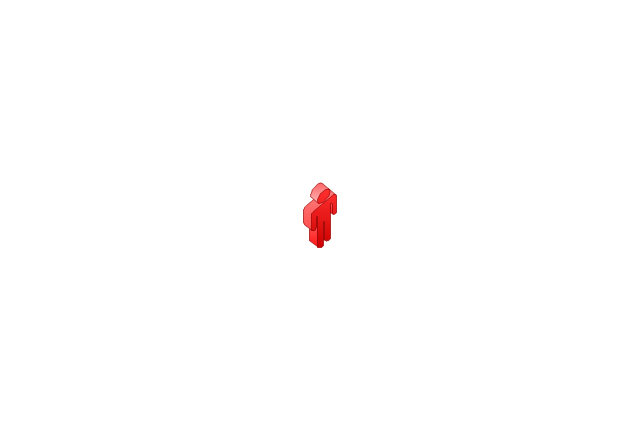 Figure red, man,