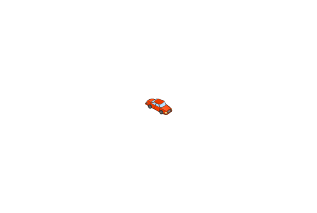 Car red, car,