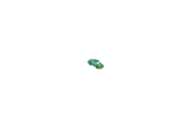 Car green, car,