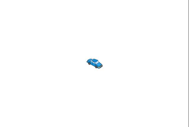 Car blue, car,