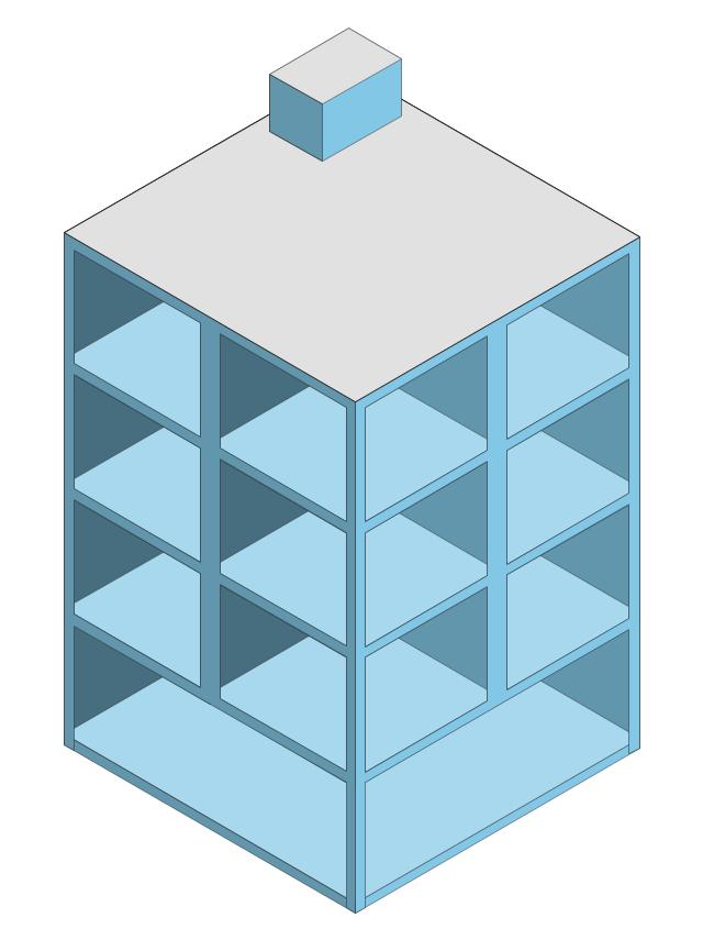 Building 1, building,