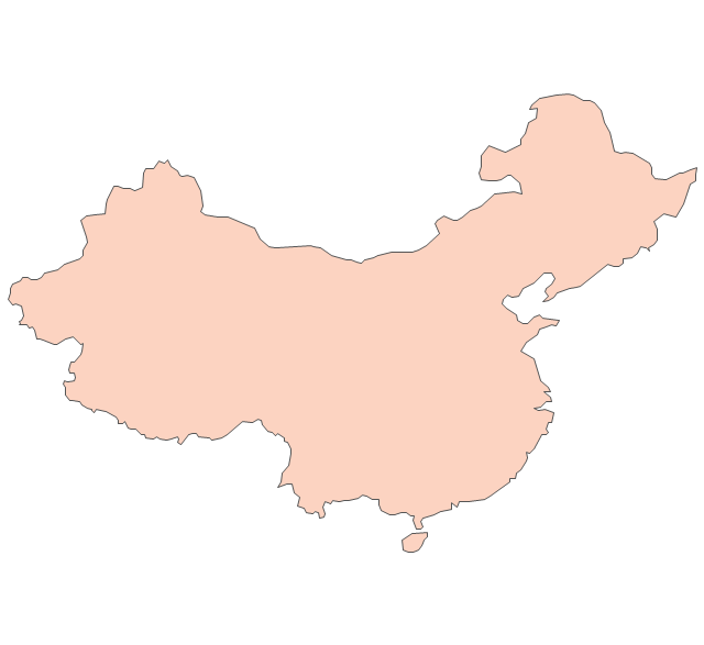 China, China, China map, People's Republic of China, PRC,