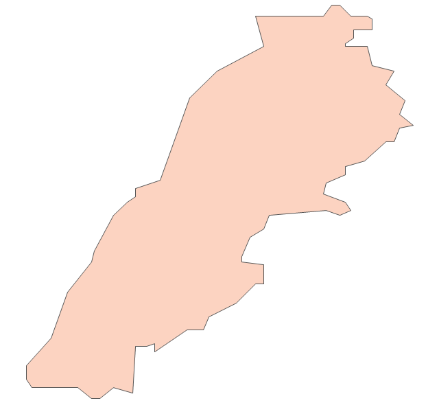 Lebanon, Lebanon, Lebanon map,