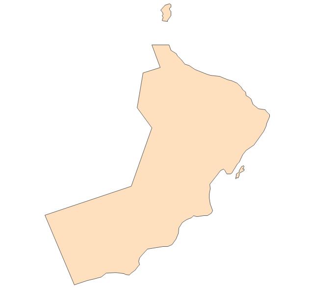 Oman, Oman, Oman map,