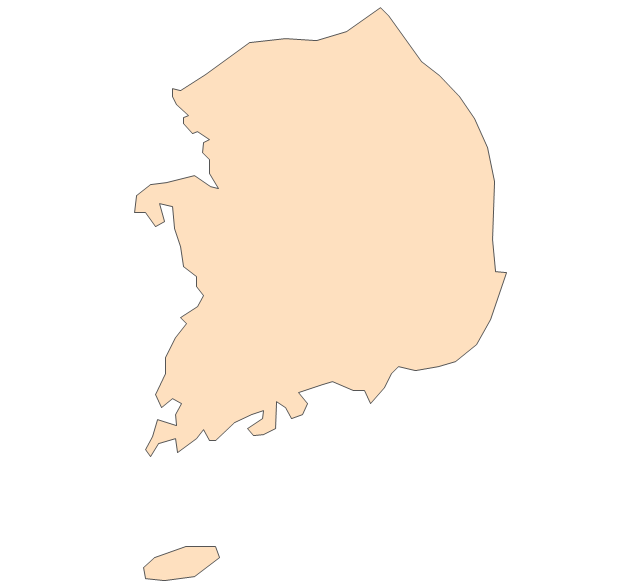 South Korea, South Korea, South Korea map,