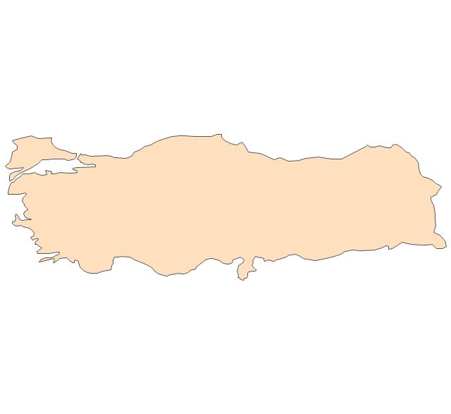 Turkey, Turkey, Turkey map,