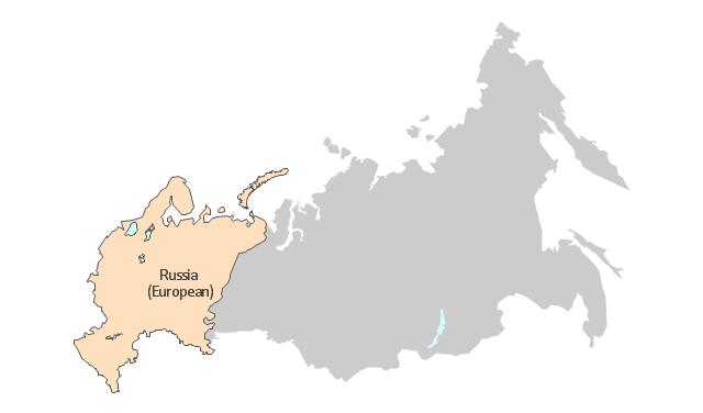 Russia (European), Russia, Russian Federation, European Russia,