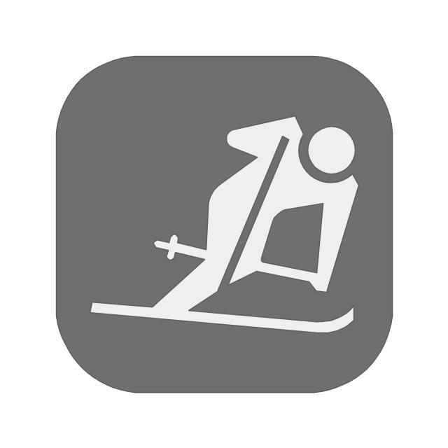 Downhill skiing, downhill skiing,