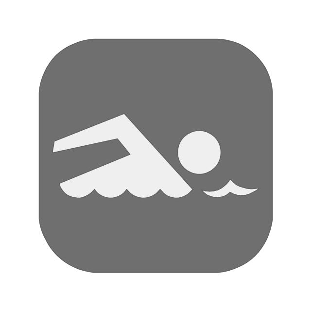 Swimming, swimming,