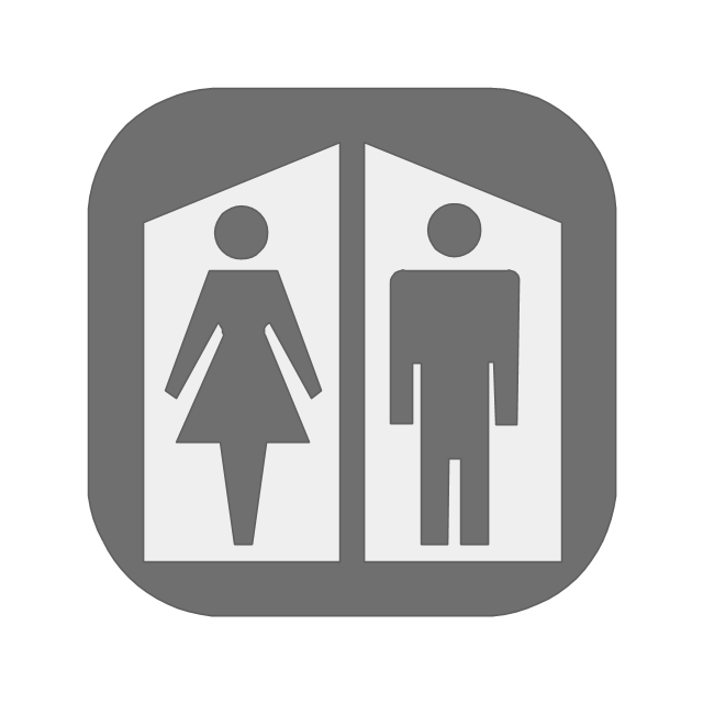 Restroom, restroom,