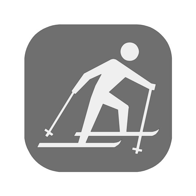 Cross-country skiing, cross-country skiing,