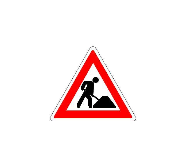 Road work, road work,