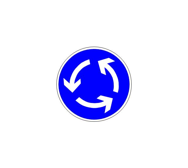Roundabout, roundabout,
