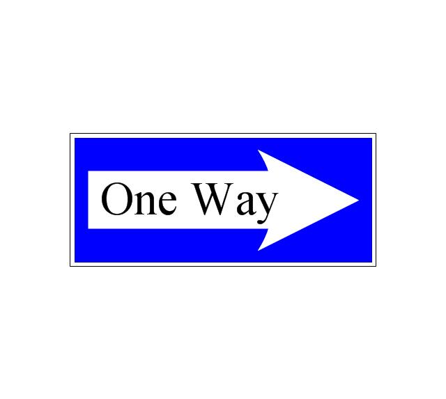 One-way street, one-way street,