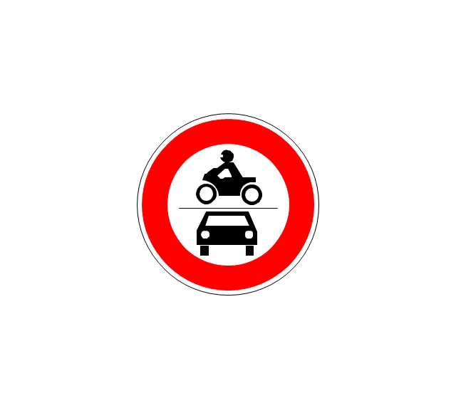 No power vehicles, no power vehicles,