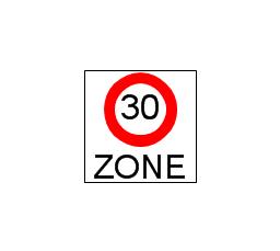 Beginning that speed 30-Zone, speed, zone,