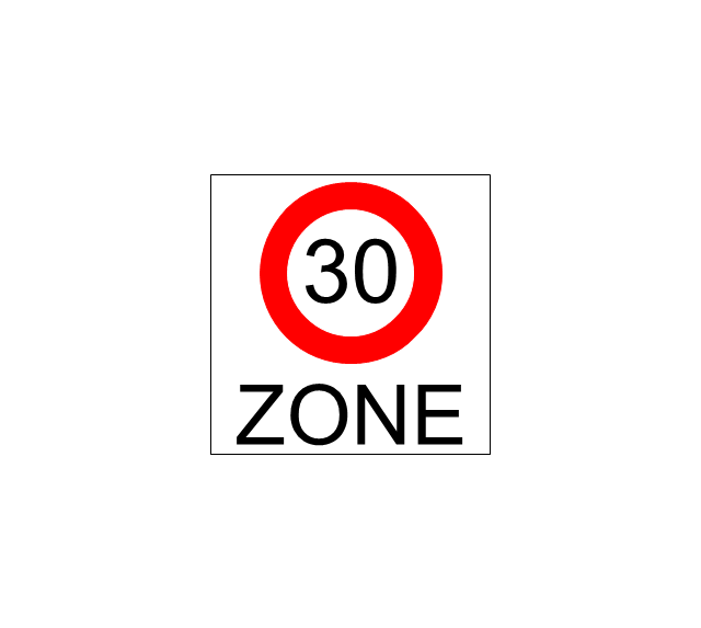 Beginning that speed 30-Zone, speed, zone,
