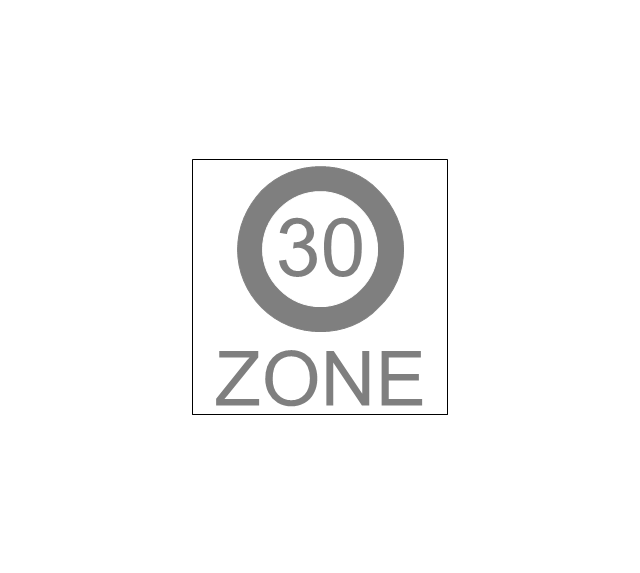 End that speed 30-Zone, speed, zone, end,