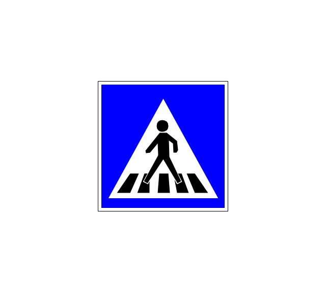 Pedestrian crossing 2, pedestrian crossing,